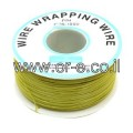 Wire Wrapping Wire (30AWG,305M) - Yellow