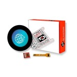 "pixxILCD Smart Display Module - 1.3"", Round w/ Capacitive Touch"