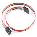 "Jumper Wire - 0.1"", 5-pin, 12"""